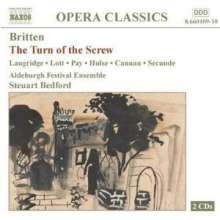 Benjamin Britten (1913-1976): The Turn of the Screw op.54, 2 CDs
