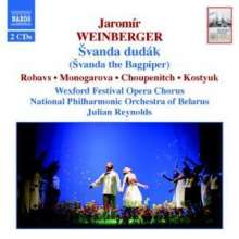 Jaromir Weinberger (1896-1967): Svanda Dudak, 2 CDs