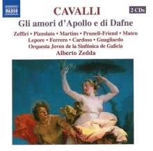 Francesco Cavalli (1602-1676): Gli amori d'Apollo e di Dafne, 2 CDs