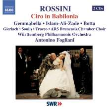 Gioacchino Rossini (1792-1868): Ciro in Babilonia, 2 CDs