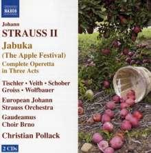 Johann Strauss II (1825-1899): Jabuka (Das Apfelfest), 2 CDs