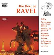 Best of Ravel, CD