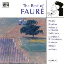 Best of Faure, CD