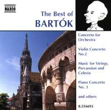 Best of Bartok, CD