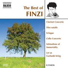 The Best of Finzi (Naxos), CD