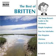 The Best of Britten (Naxos), CD