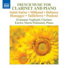 Ermanno Veglianti - French Music for Clarinet and Piano, CD