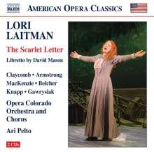 Lori Laitman (geb. 1955): The Scarlet Letter, 2 CDs