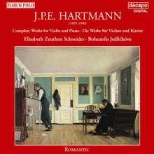 Johan Peter Emilius Hartmann (1805-1900): Sämtliche Werke für Violine & Klavier, 2 CDs