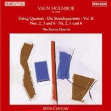 Vagn Holmboe (1909-1996): Streichquartette Nr.2,5,6, CD