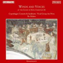 Winds & Voices at the Court of Christian III, CD
