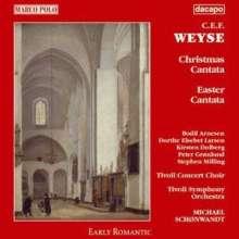 Christoph Ernst Friedrich Weyse (1774-1842): Weihnachtskantate Nr.3, CD