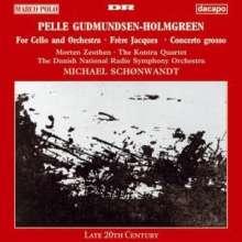 """Pelle Gudmundsen-Holmgreen (1932-2016): Cellokonzert """"For Cello & Orchestra"""", CD"""