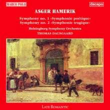Asger Hamerik (1843-1923): Symphonien Nr.1 & 2, CD