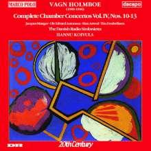 Vagn Holmboe (1909-1996): Sämtliche Kammerkonzerte Vol.4, CD