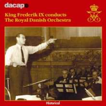King Frederik IX conducts the Royal Danish Orchestra, CD