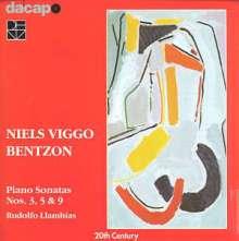 Niels Viggo Bentzon (1919-2000): Klaviersonaten Vol.1, CD