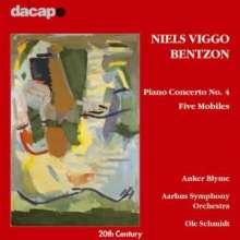 Niels Viggo Bentzon (1919-2000): Klavierkonzert Nr.4, CD