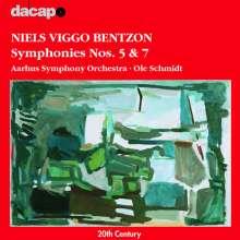 Niels Viggo Bentzon (1919-2000): Symphonien Nr.5 & 7, CD
