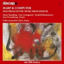 Musik für Harfe & Elektronik, CD