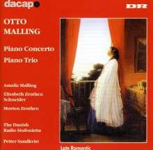 Otto Malling (1848-1915): Klavierkonzert op.43, CD