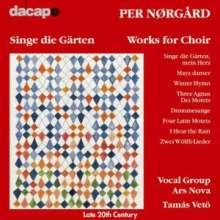 Per Nörgard (geb. 1932): Chorkwerke, CD