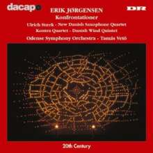 Erik Jörgensen (geb. 1912): Confrontations für Orchester, CD