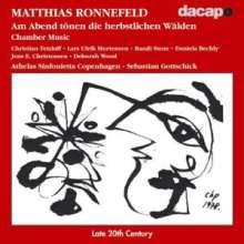 Matthias Ronnefeld (1959-1986): Werke II, CD