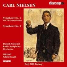 Carl Nielsen (1865-1931): Symphonien Nr.4 & 5, CD