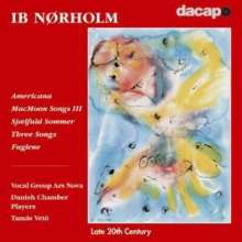 Ib Nörholm (geb. 1931): Chorwerke, CD