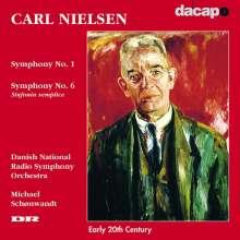 Carl Nielsen (1865-1931): Symphonien Nr.1 & 6, CD