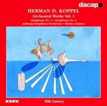 Herman Koppel (1908-1998): Symphonien Nr.1 & 2, CD