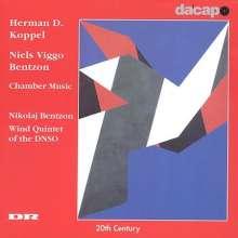 Niels Viggo Bentzon (1919-2000): Bläserquintett op.116, CD