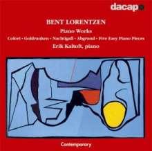 Bent Lorentzen (geb. 1935): Klavierwerke, CD