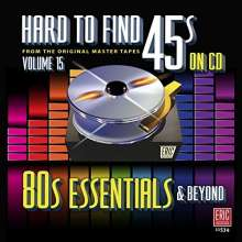 Hard To Find 45s On CD Vol.15, CD