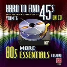Hard To Find 45s On CD Vol.16, CD