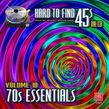 Hard To Find 45s On CD Vol.18: 70s Essentials, CD