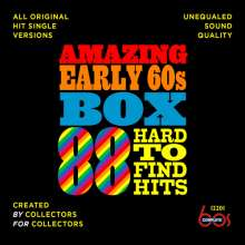Amazing Early 60s Box: 88 Hard-To-Find Hits, 3 CDs