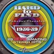 Hard To Find Jukebox Classics 1956 - 1959, CD
