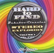 Hard To Find Jukebox Classics: Stereo Explosion Volume 1: 50s Pop, CD