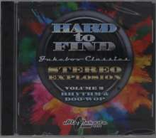 Hard To Find Jukebox Classics: Stereo Explosion Volume 2, CD