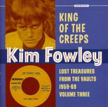 King Of The Creeps: Lost Treasures From The Vaults 1959 - 1969 Volume Three, CD