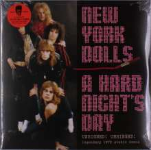 New York Dolls: A Hard Night's Day (remastered) (Violet Vinyl), 2 LPs