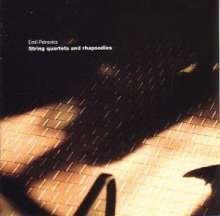 Emil Petrovics (1930-2011): Streichquartette Nr.1 & 2, CD