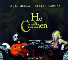 Eszter Horgas: He & Carmen (Live), CD