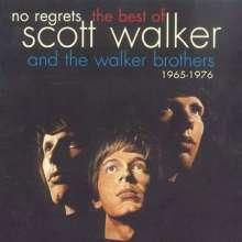 Scott Walker & The Walker Brothers: No Regrets: The Best Of Scott Walker And The Walker Brothers, CD