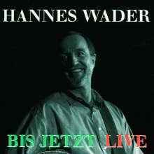 Hannes Wader: Bis jetzt: Live, CD