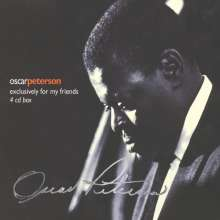 Oscar Peterson (1925-2007): Exclusively For My Friends, 4 CDs