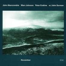 John Abercrombie (1944-2017): November, CD