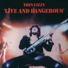 Thin Lizzy: Live & Dangerous, CD